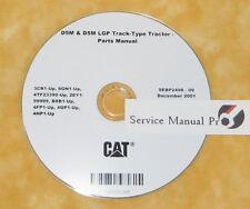SEBP2498 Caterpillar D5M Track Type Tractor Dozer Parts Manual Book CD