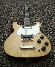 "Baritone guitar. 28"" scale length. Oak fronted with humbuckers. Hand made 1/1."