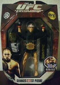 BRAND NEW UFC 87 LIMITED EDITION 1/500 GEORGE ST-PIERRE! ULTRA RARE! AWESOME!