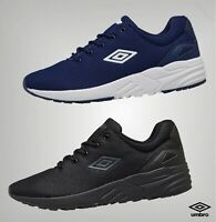 Mens Umbro Lightweight Padded Lace Up Retro Sports Trainers Sizes from 6 to 12