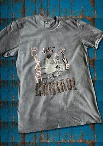 The Clash Jive after Five t-shirt (Grey t-shirt/Pink design)