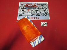 9940595 TRASPARENTE PLASTICA FANALINO ANTERIORE SX FIAT PANDA ARANCIO