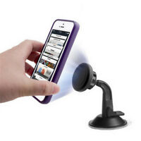360 Magnetic Phone Mount Car Dash Phone Air Vent Holder with Suction Cup