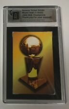 Miami Heat 2006 NBA Champions 15 Strong Card Season Ticket Holder 1 of 4500 RARE