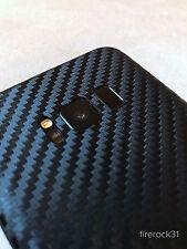 Samsung Galaxy S8+ (S8 Plus) Decal Skin - Black Carbon Fiber