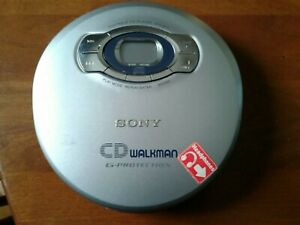 CD Walkman G Protection Sony Portable CD Player Model D-EJ611 TESTED T1