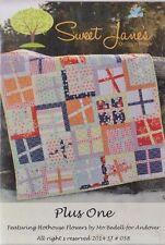 Plus One - simple pieced quilt PATTERN - Sweet Jane