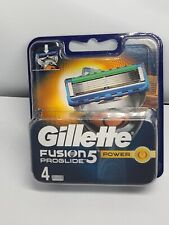 Gillette Fusion5 Proglide Power  Razor Blades 4 100% Genuine UK Post    UK