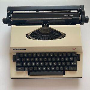 Adler Meteor Cursive Electric Typewriter