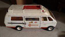 Vintage Tonka Metal Ambulance Rescue Truck/Van