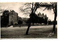 Place des Terrasses-Chateaubriant-France-RPPC-Joel Real Photo Vintage Postcard