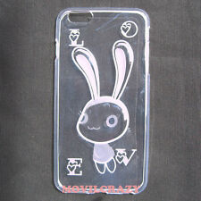 "FUNDA TAPA GEL TPU CUSTODIA PARA IPHONE 6 PLUS 5.5"" TRANSPARENTE DIBUJO CONEJO"