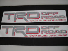 2 Toyota TRD 4x4 Off Road G/R Decals Stickers Tacoma 4runner Tundra