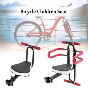 Comfort Kinderfahrradsitz Fahrrad Kindersitz Vorne Halterung bis 50kg 2-7 Jahre