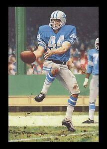 Dick LeBeau Goal Line Art Card Detroit Lions
