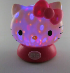 HELLO KITTY Nightlight LED Light Color Changing TESTED WORKS        Sanrio 2011