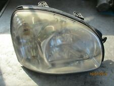 HYUNDAI SANTA FE MK1 OS DRIVER SIDE HEADLIGHT 9210226XXX