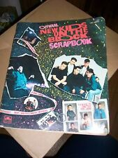 New Kids on the Block scrapbook - vintage Nkob collectible! Rare!