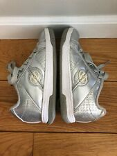 Heeleys- The Authentic Wheeled Shoe, Silver/Chrome, Irridescent, Youth Size 2