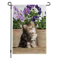 Ragdoll Tiffany Kitten Cat Flower Pots Garden Yard Flag