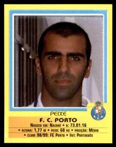 Panini Futebol 1999-2000 FC Porto Peixe No. 7