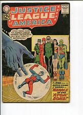 JUSTICE LEAGUE OF AMERICA 14 GD 1st ATOM IN JLA  1962