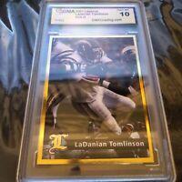 LaDAINIAN TOMLINSON LEGENDS MAGAZINE GOLD ROOKIE CARD RC GEM MINT 10
