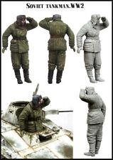 1/35 Escala resina Figura MODELO CONJUNTO soviético Tankman Segunda Guerra Mundial EM-35163