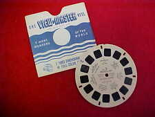 CINDERELLA & THE GLASS SLIPPER, VIEW-MASTER REEL - 1946 SAWYER'S INC. - FT-5