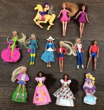Mini Barbie Dolls McDonalds Lot Horse Holiday Vintage