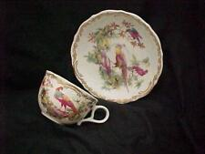"Andrea by Sadek Smithsonian Institution ""Exotic Birds"" Cup and Saucer - Mint"