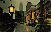 Postcard The New York City Public Library