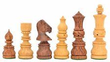 Mogulreich indische Sheeshamholz Schachfiguren -Holz handgeschnitzt –chessbazaar