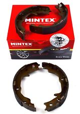 Mintex Trasero Zapatos de Freno de estacionamiento Mitsubishi Jeep MFR683 (imagen real de parte)