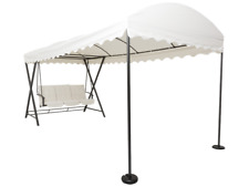 Dondolo 3 POSTI con cuscini con Gazebo 4,8mt - GARDEN ALL IN
