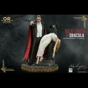 -=] INFINITE STATUE - Dracula Bela Lugosi Old & Rare statua 1/6 [=-