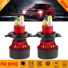 H4 LED Headlights Kit 100W Hi-Lo Beam Bulbs White 8Size For Acura Integra 90-93