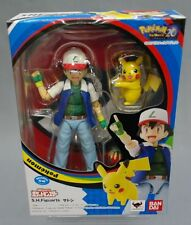 SH S.H. Figuarts Ash Ketchum & Pikachu Pokemon Bandai Japan NEW (IN STOCK) ***