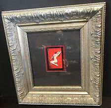 TWO INDIVIDUALLY MATTED AND FRAMED VINTAGE MARILYN MONROE PLAYBOY PLAYING CARDS