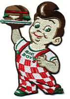 Big Boy patch badge cheeseburger Bob's Americana retro rockabilly iron on