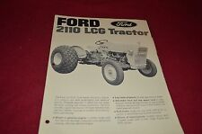 Ford Tractor 2110 LCG Tractor Dealer's Brochure DCPA2