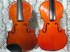 Lot of Two Violins Full Size 4/4 NO RESERVE