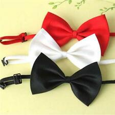 3Pcs Adjustable Pet Dog Cat Puppy Bow Tie Necktie Collar Formal Clothes Toy - LD