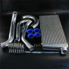 FMIC Twin Turbo Intercooler Kit Fits Toyota Supra JZA80 2JZGTE 2JZ 93-98 Black