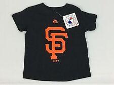 KIDS Black San Francisco Giants TODDLER MAJESTIC TShirt - 3T