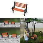 New Model Train Bench Chair Settee Garden Park Layout Scenery Railway Smaller