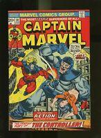 Captain Marvel #30, VF 8.0, Thanos War, Iron Man