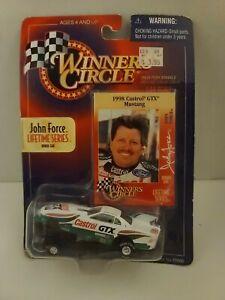 John Force NHRA 1:64 Diecast Funny Car Winner's Circle 1998