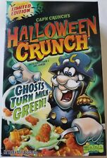 NEW 2017 Cap'n Crunch's Halloween Cereal Ghosts Turns Milk Green! FREE SHIPPING
