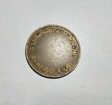 North Sydney Council Olympic Pool vintage token 21 mm across
